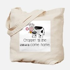 Croppin' Cows Tote Bag
