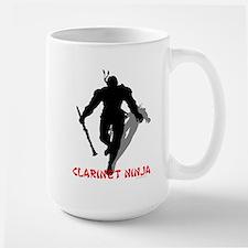 Clarinet Ninja Large Mug