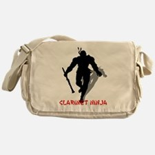 Clarinet Ninja Messenger Bag