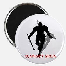 "Clarinet Ninja 2.25"" Magnet (10 pack)"