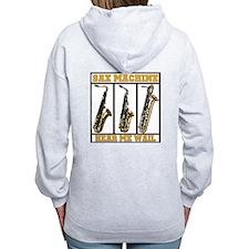 Sax Machine Zip Hoodie