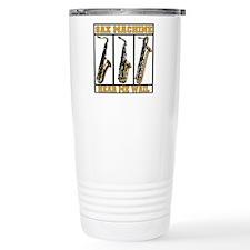 Sax Machine Travel Mug