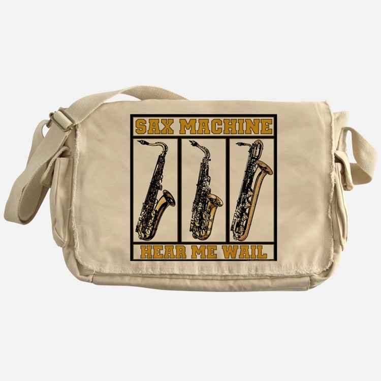 Sax Machine Messenger Bag