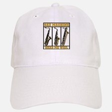 Sax Machine Baseball Baseball Cap