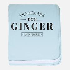 Trademark Ginger baby blanket