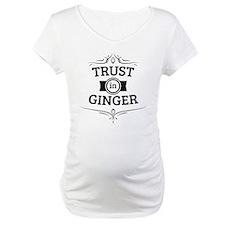 Trust in Ginger Shirt