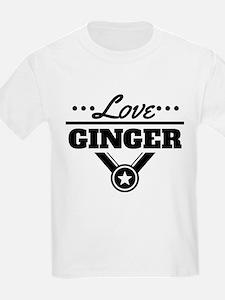 Love Ginger T-Shirt