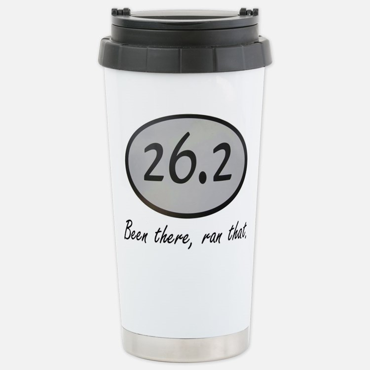 Cute Marathon done Travel Mug