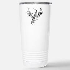 Winged Sax Travel Mug