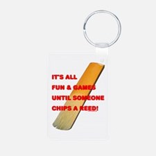 Chip a Reed Aluminum Photo Keychain