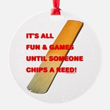 Chip a Reed Ornament