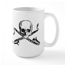 Bass Clarinet - Basset Horn Pirate Mug