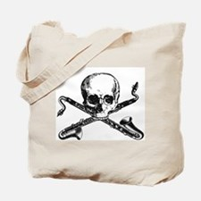 Bass Clarinet - Basset Horn Pirate Tote Bag