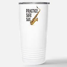 Practice Safe Sax (Teno Travel Mug