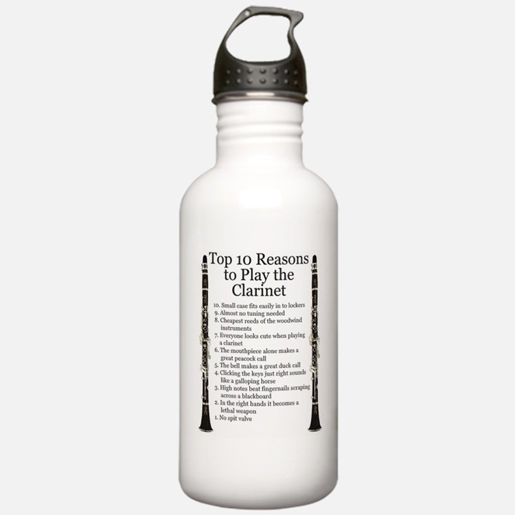 Clarinet Top 10 Water Bottle