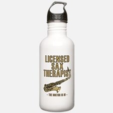 Licensed Sax Therapist Water Bottle