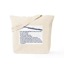 Flute Top 10 Tote Bag