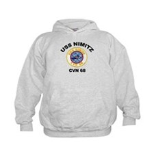 USS Nimitz CVN 68 Hoodie