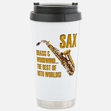 Sax: Best of Both World Travel Mug