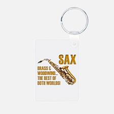 Sax: Best of Both Worlds Keychains