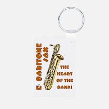 Baritone Sax Keychains Keychains