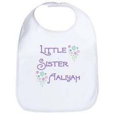 Little Sister Aaliyah Bib