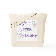 Little Sister Aaliyah Tote Bag