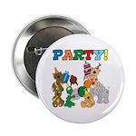 Animal Birthday Button