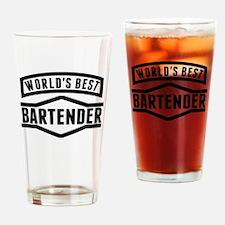 Worlds Best Bartender Drinking Glass