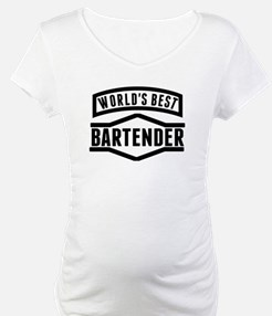 Worlds Best Bartender Shirt