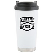 Worlds Best Babysitter Travel Mug