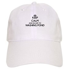 Keep calm and escape to Washing Pond Massachus Baseball Cap