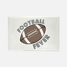 Football Fever Rectangle Magnet