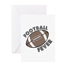 Football Fever Greeting Card