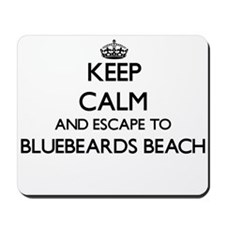 Keep calm and escape to Bluebeards Beach Mousepad