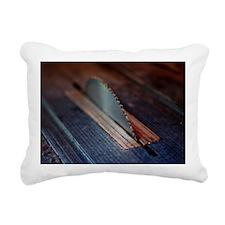 Old Bandsaw Rectangular Canvas Pillow