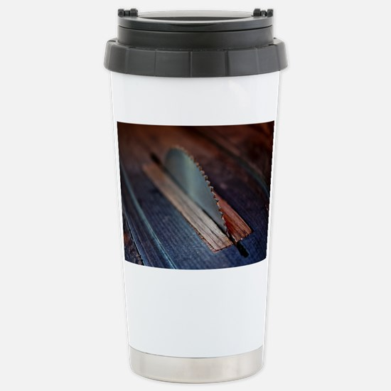 Old Bandsaw Stainless Steel Travel Mug