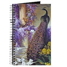 Bidau Peacock, Doves Wisteria Journal
