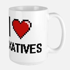 I Love Laxatives Mugs