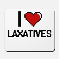 I Love Laxatives Mousepad