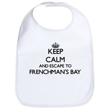 Keep calm and escape to Frenchman'S Bay Virgin Bib