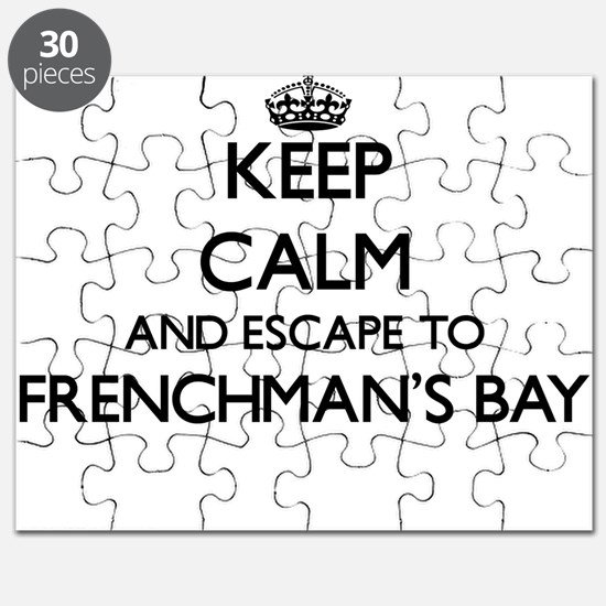 Keep calm and escape to Frenchman'S Bay Vir Puzzle