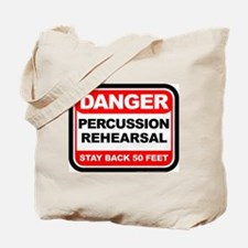 Danger: Percussion Rehearsal Tote Bag