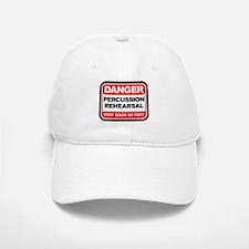 Danger: Percussion Rehearsal Baseball Baseball Cap