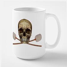 Bass Drum Pirate Large Mug