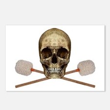 Bass Drum Pirate Postcards (Package of 8)