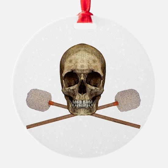 Bass Drum Pirate Ornament