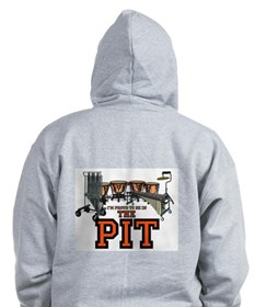 Proud to Be In the Pit Zip Hoodie
