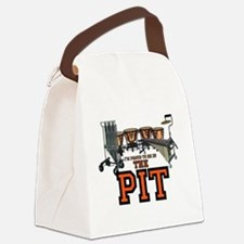 Proud to Be In the Pit Canvas Lunch Bag