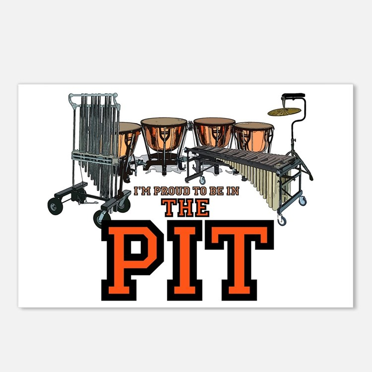 Proud to Be In the Pit Postcards (Package of 8)